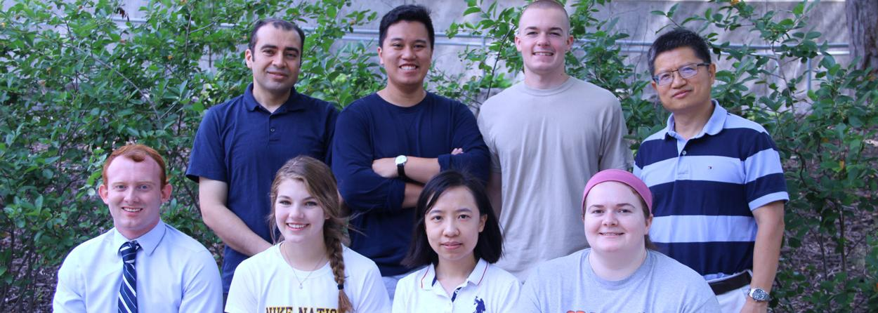 Chen lab group photo